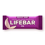 Lifebar baton cu smochine raw bio 47g