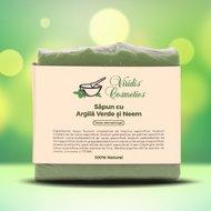 Sapun natural Argila Verde si Neem 100g