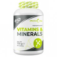 Vitamine si minerale 1500mg, 90 tablete, 6Pak Nutrition