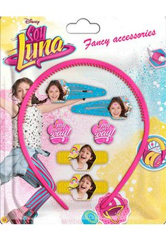Accesorii par, Soy Luna, roz cu galben