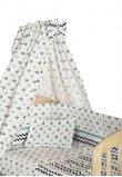 Baldachin patut, ancore, 150x210cm