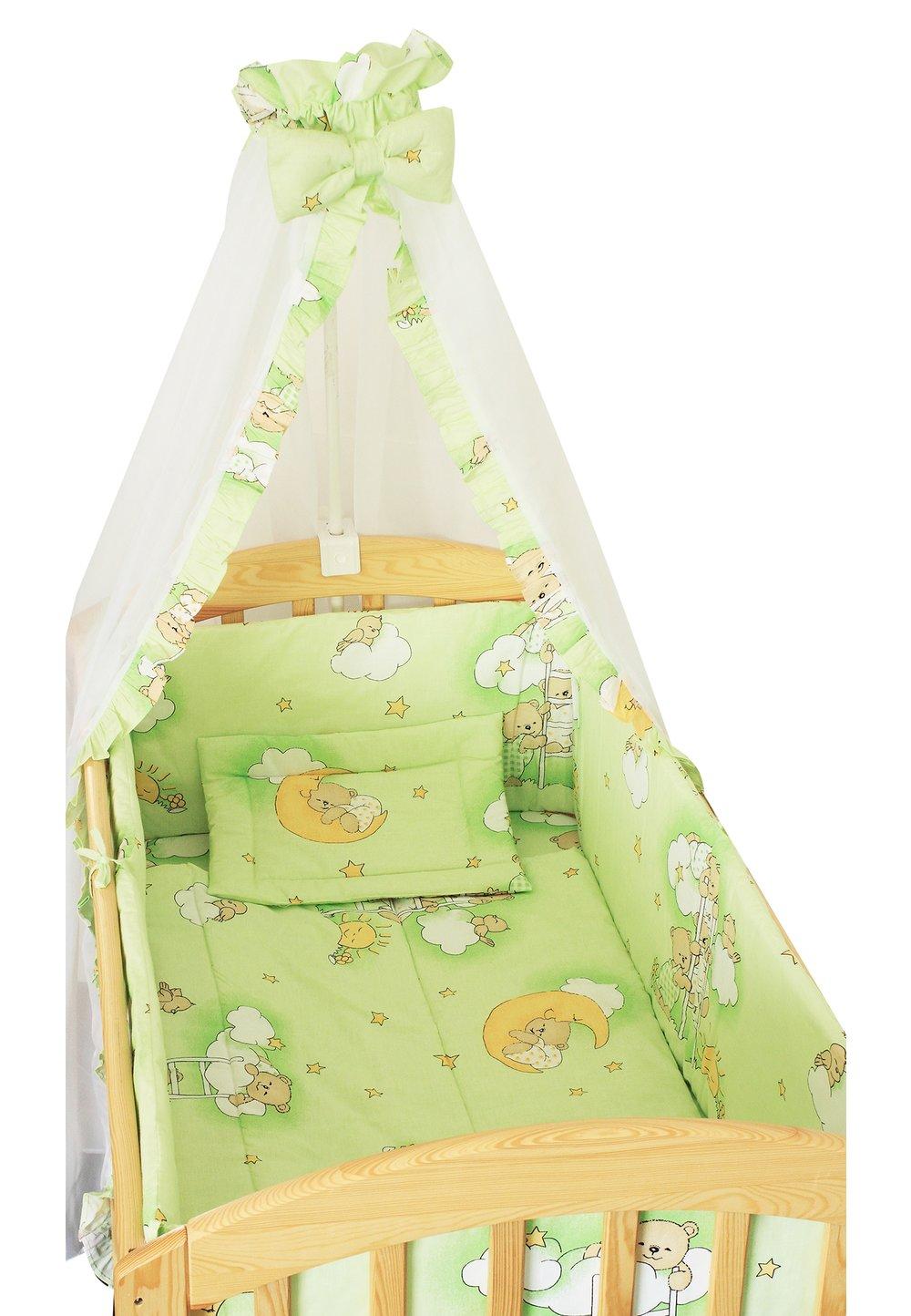 Baldachin patut, ursuletul somnoros verde, 200 x 160 cm imagine