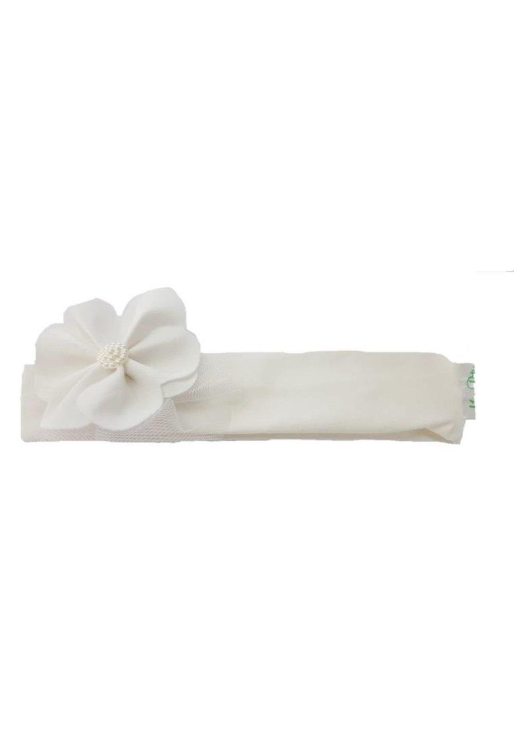 Bentita ivory, cu floricica imagine