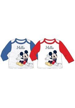 Bluza bebe, Hello Mickey, albastru