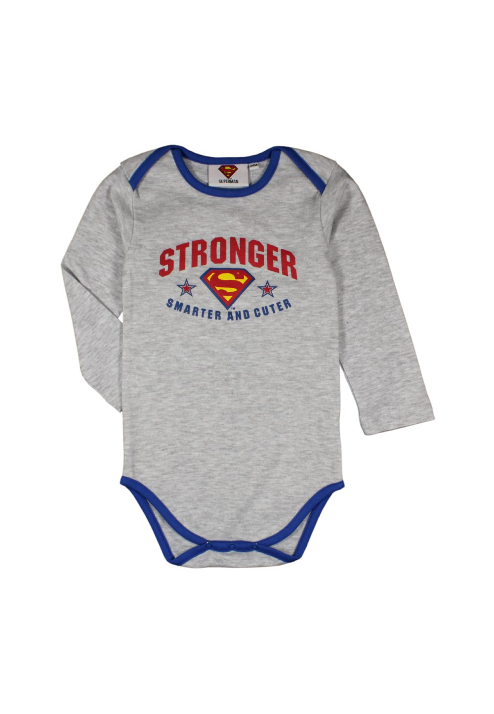 Body Maneca Lunga, Stronger, Gri