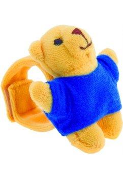 Bratara plus, ursulet cu tricou albastru