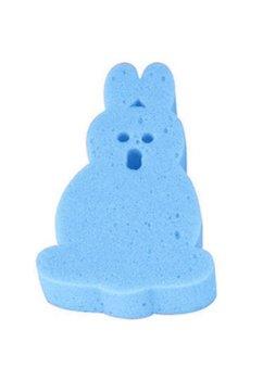 Burete baie, iepuras, albastru