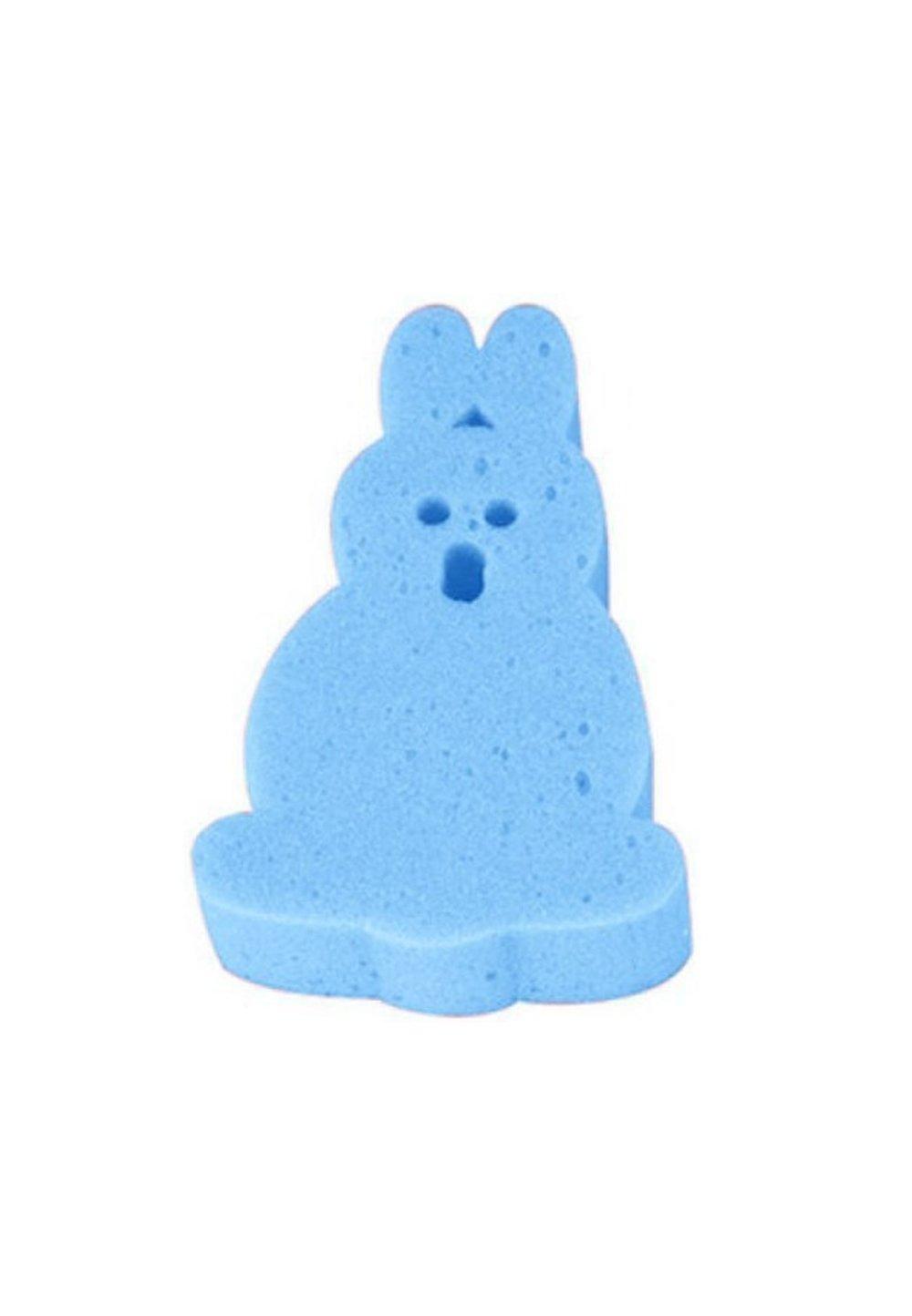 Burete baie, iepuras, albastru imagine