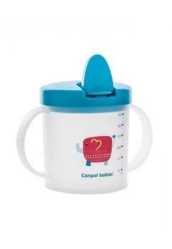 Cana Flip-top, elefantel, albastra