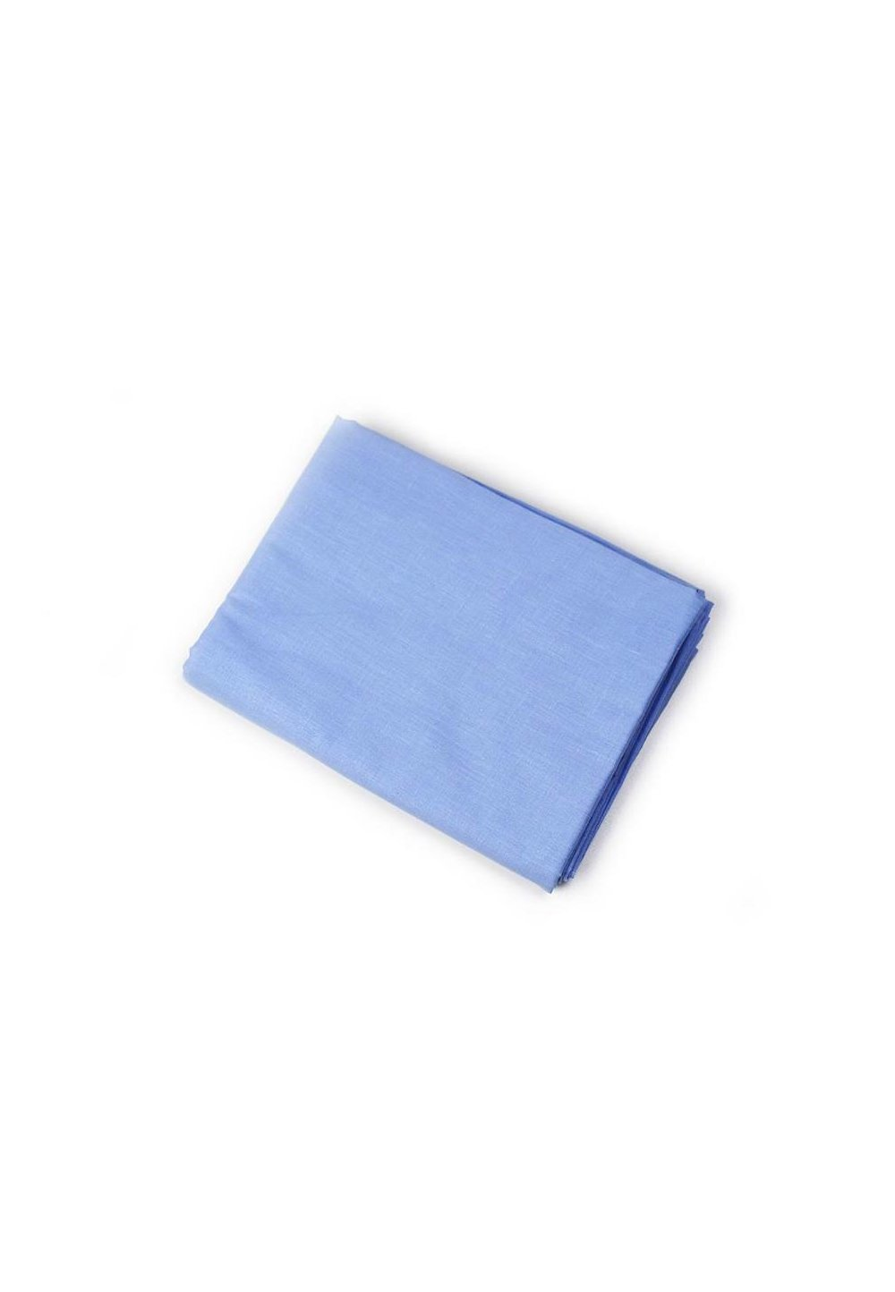 Cearceaf bumbac, albastru, 160 x 210 cm imagine