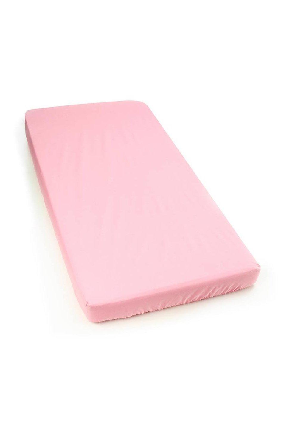 Cearceaf bumbac, roz, 140 X 70 cm imagine