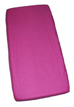 Cearceaf bumbac, roz inchis, 120x60 cm