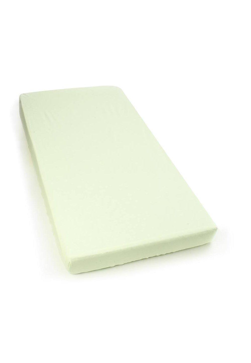 Cearceaf bumbac, verde deschis, 120 X 60 cm imagine