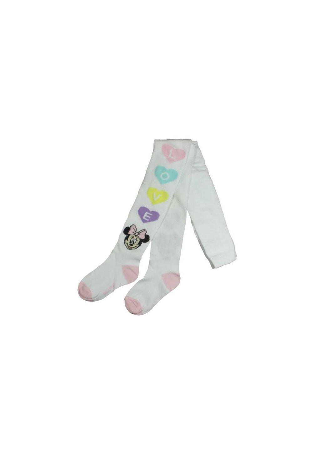 Ciorapi cu chilot, albi, Love, Minnie imagine