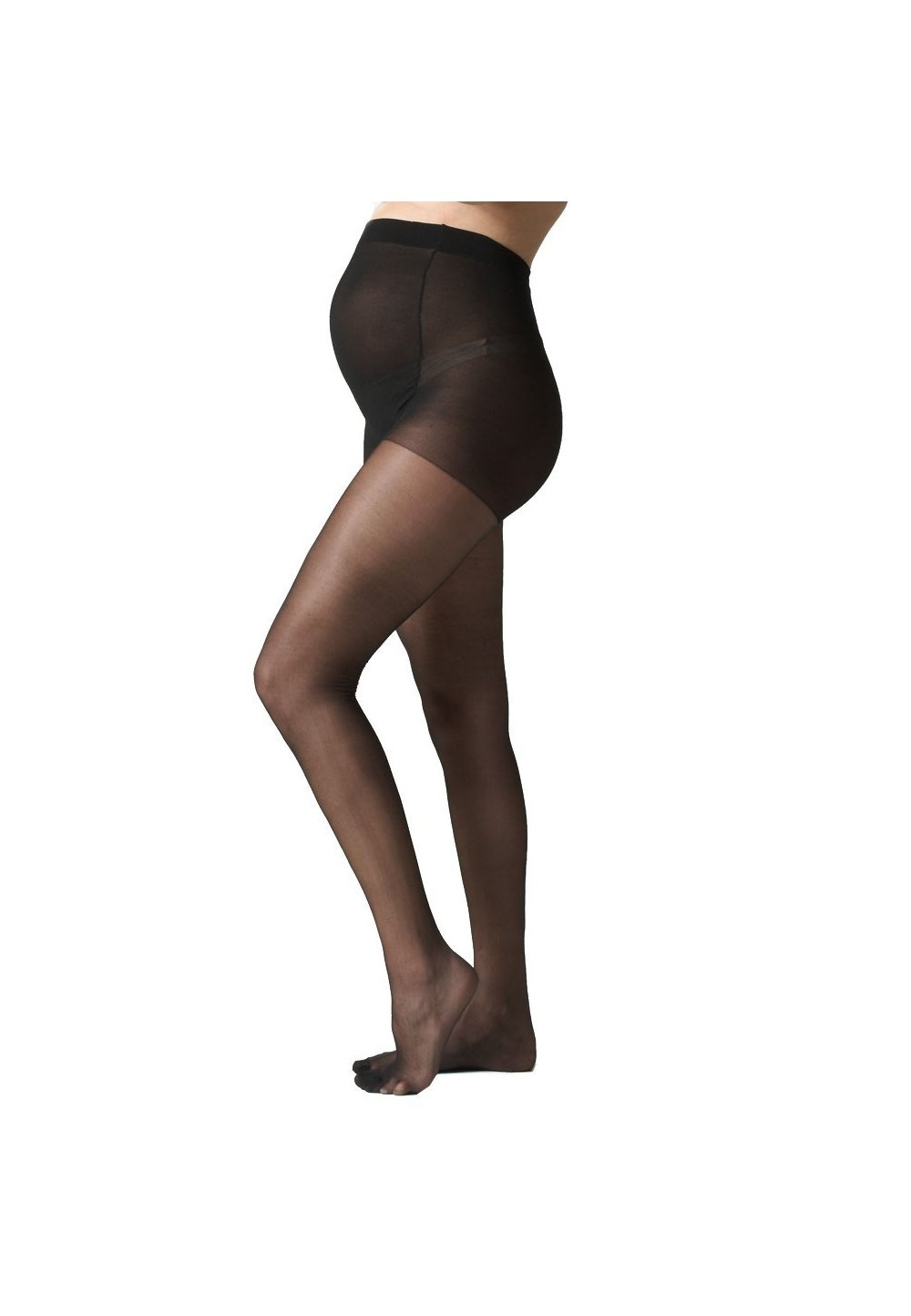 Ciorapi cu chilot gravide,negri, 20 Den imagine