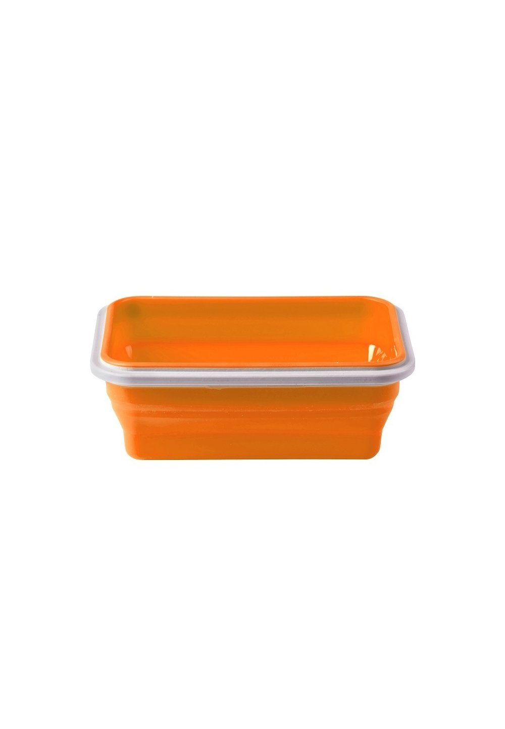 Cutie silicon, 500ml, portocalie imagine