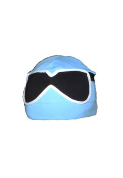 Fes cu ochelari C182 albastru deschis  1