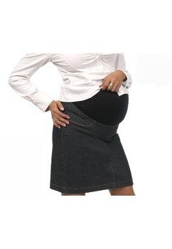 Fusta gravide, jeans, bluemarin