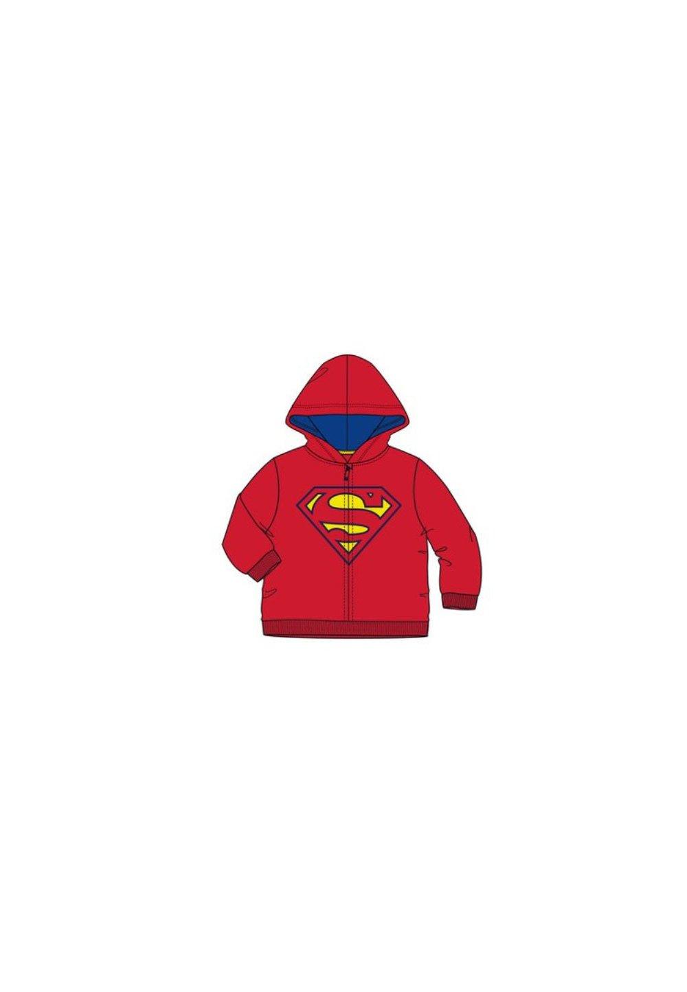 Geaca fleece, Superman, rosie imagine