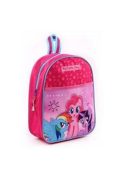 Ghiozdan, roz, My Little Pony, cu stelute