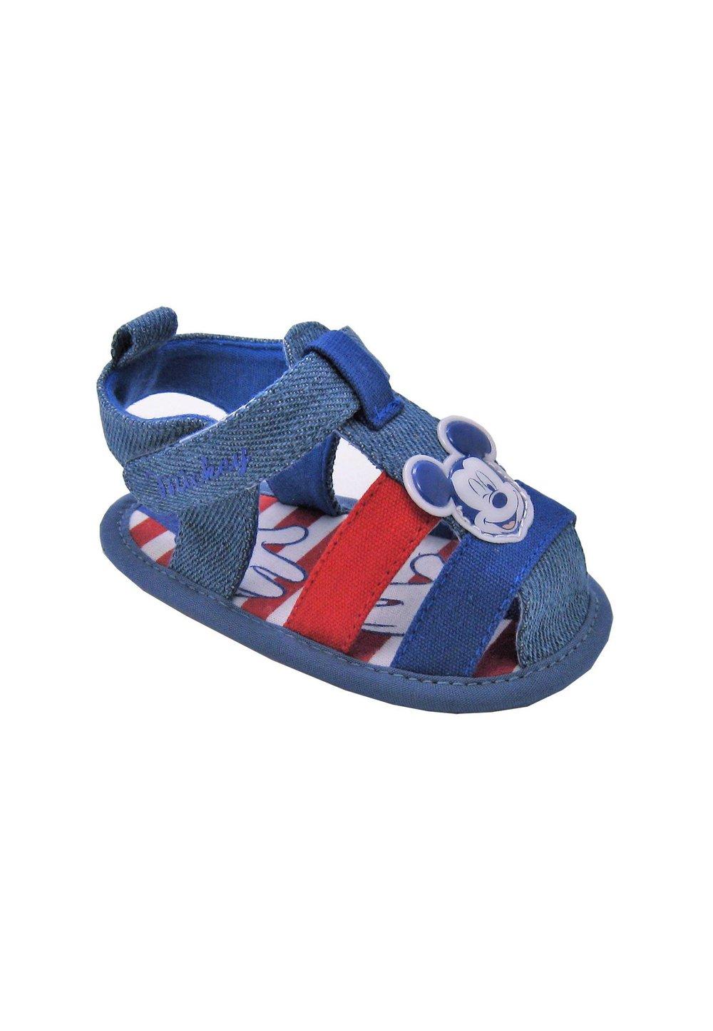 Incaltaminte bebe, Mickey Mouse, jeans imagine
