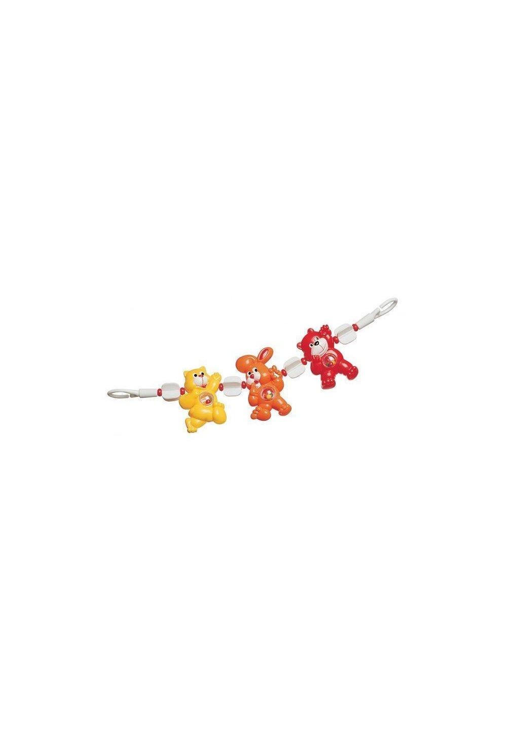 Jucarie carucior, animalute colorate imagine
