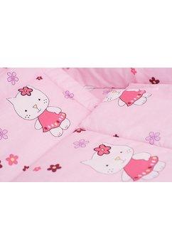 Lenjerie  5 piese kitty roz, 120 x 60 cm