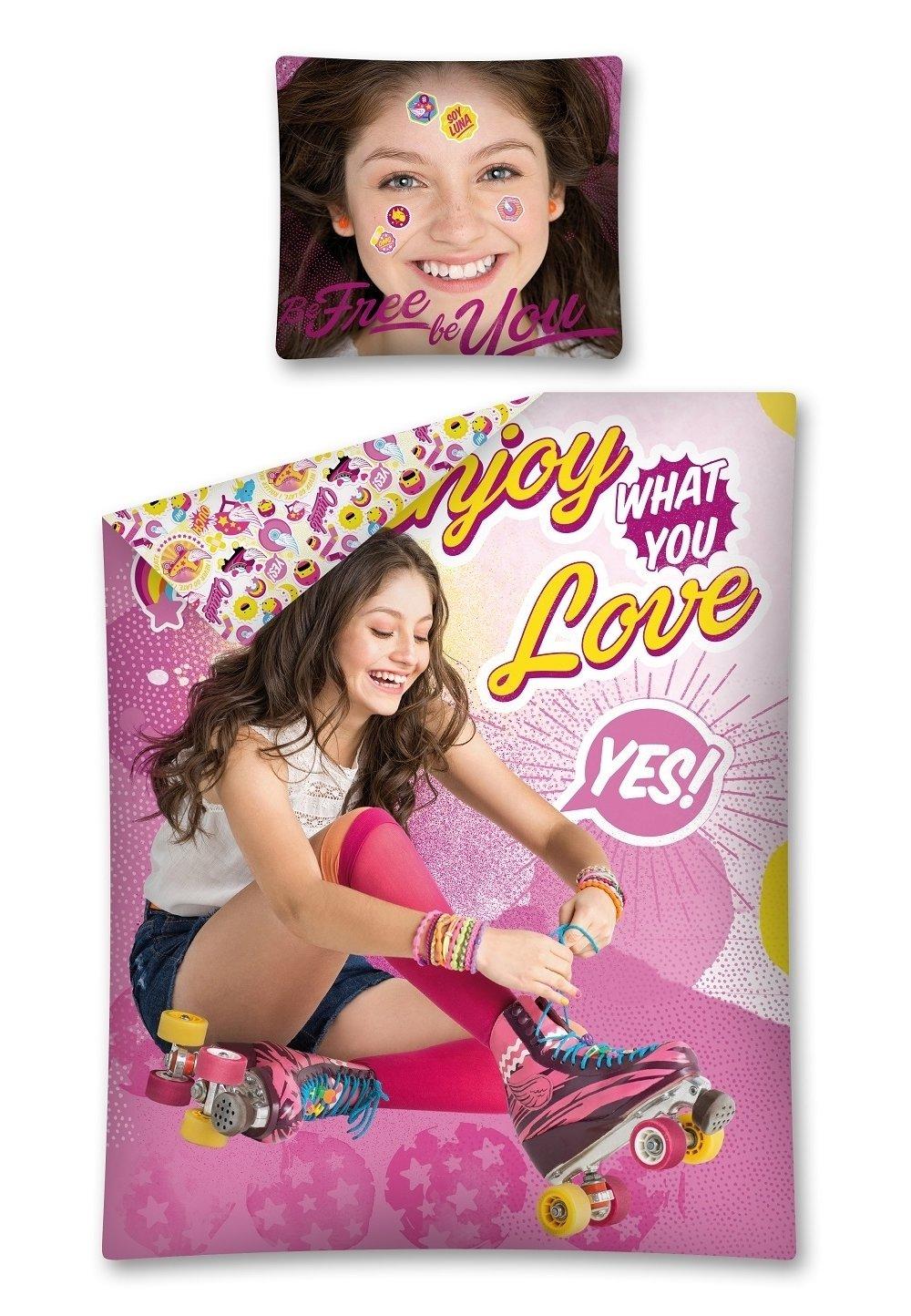 Lenjerie de pat, Soy Luna, Love, 140x200cm imagine
