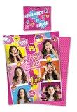 Lenjerie de pat, Soy Luna, Make random faces, 160x200cm