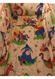 Lenjerie patut, 5 piese, Winnie si Aiurel, crem, 120 x 60 cm