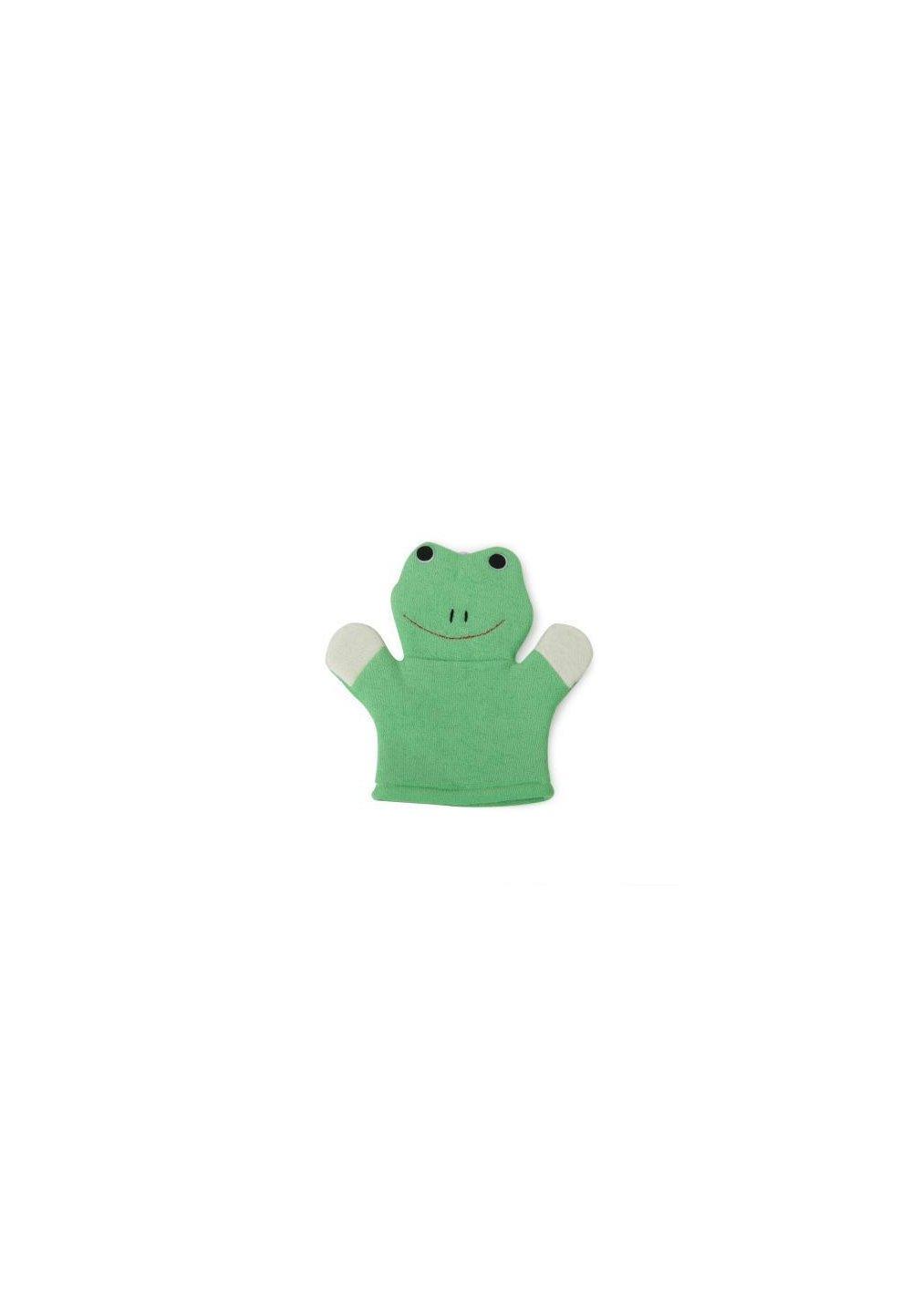 Manusa baie, broscuta, verde imagine