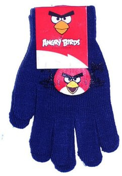 Manusi cu degete, Angry Birds, 3-7ani, bluemarin