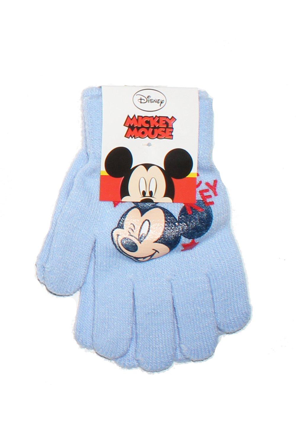Manusi Mickey Mouse, albastru deschis, 3-7ani imagine