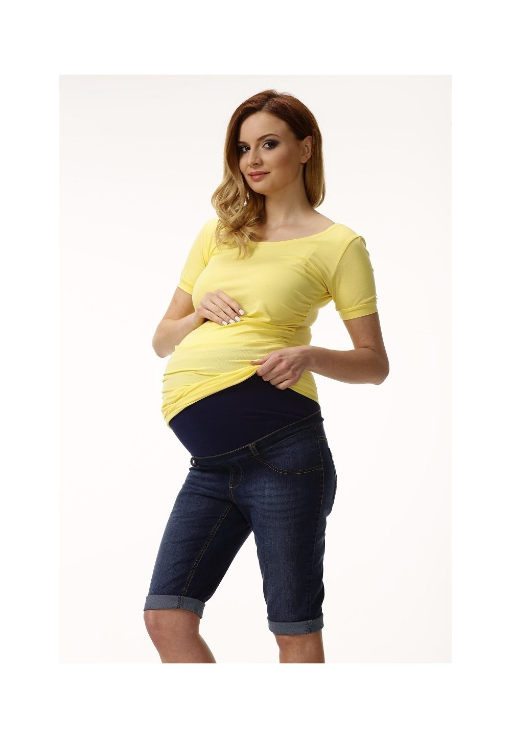 Pantalon 3/4, jeans imagine