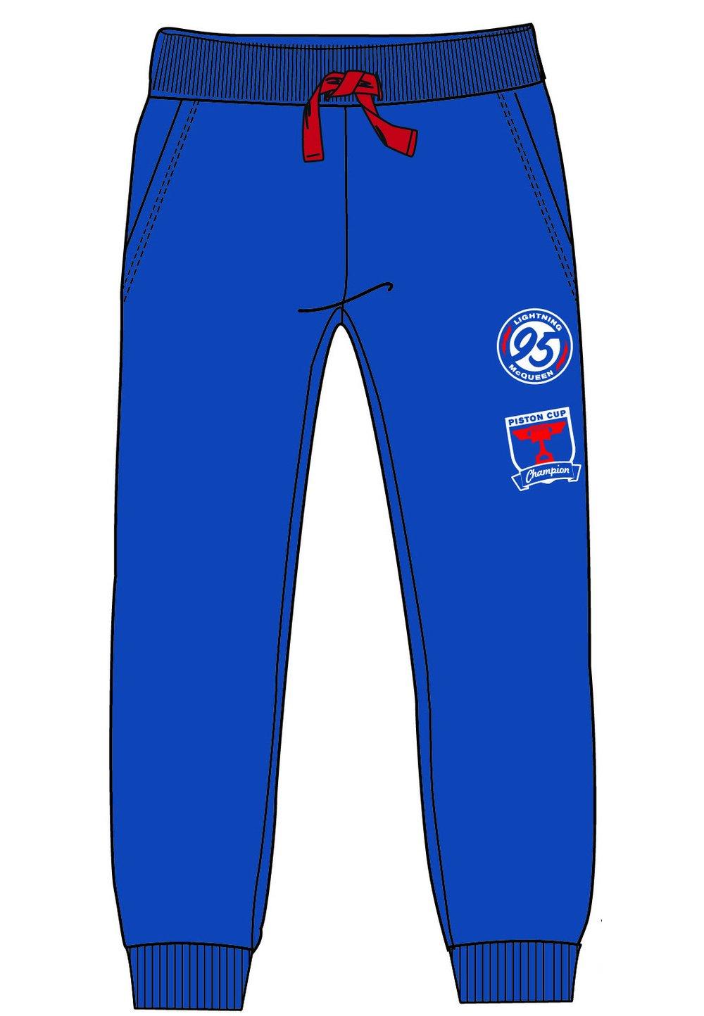 Pantalon de trening, Cars, Lightning, albastru imagine