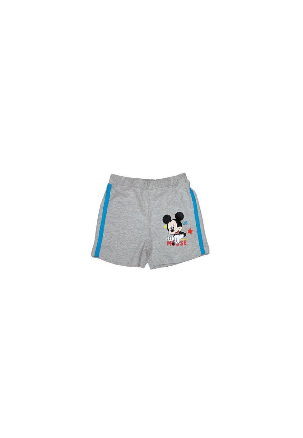 Pantalon scurt Mickey, bebe, gri imagine