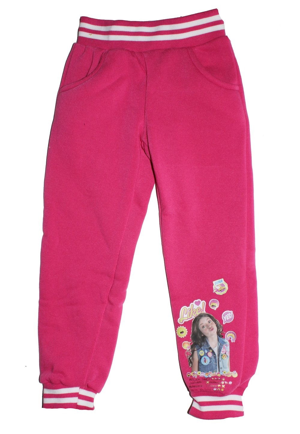 Pantalon Soy Luna, roz imagine