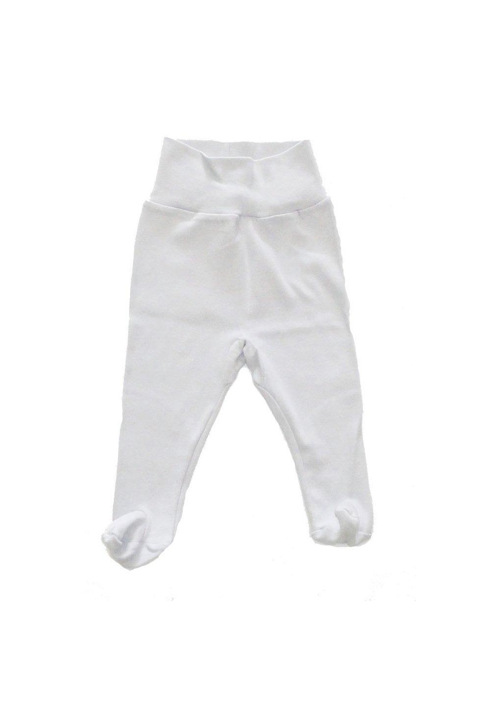 Pantaloni cu botosi alb imagine