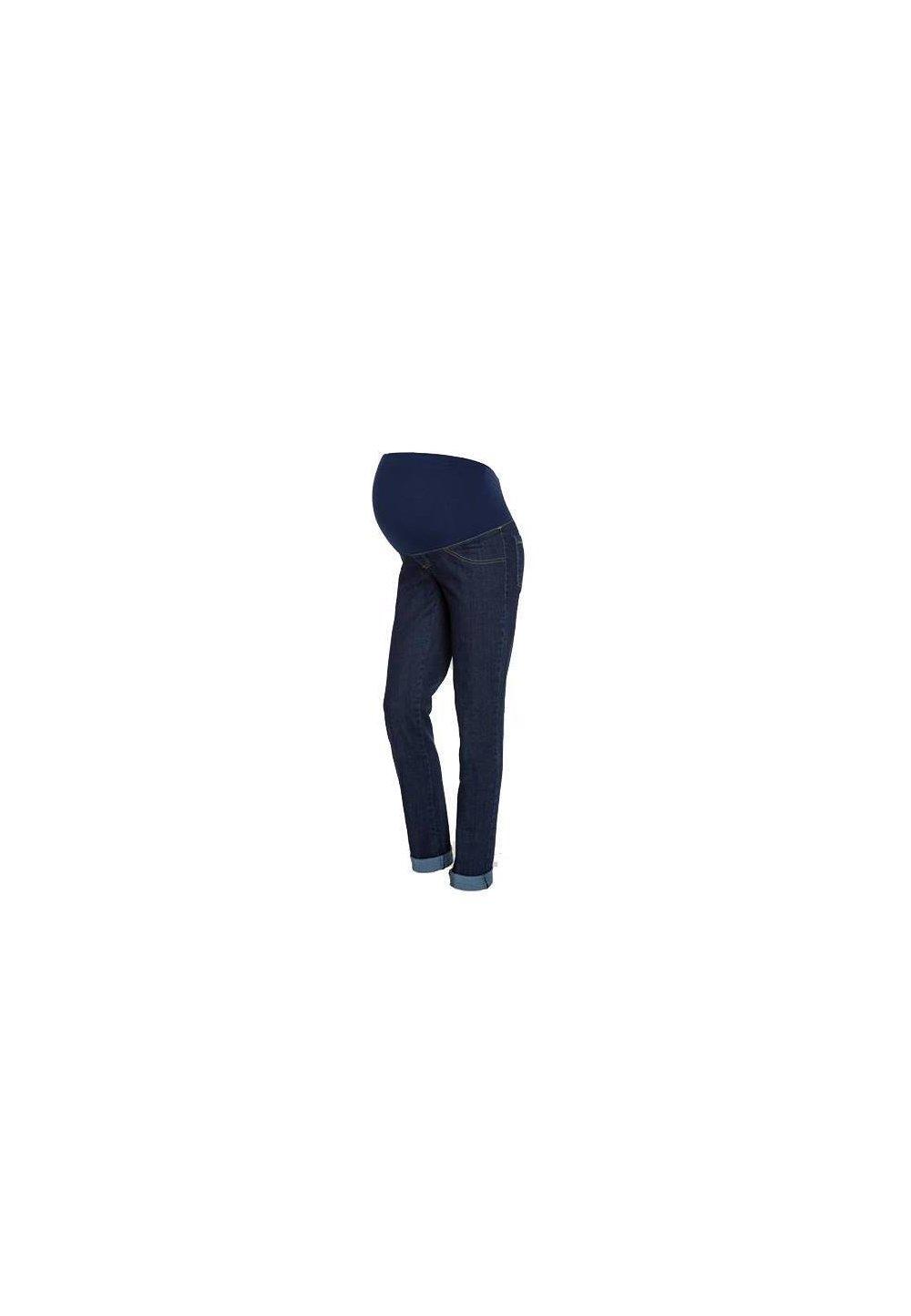 Pantaloni gravide din jeans imagine