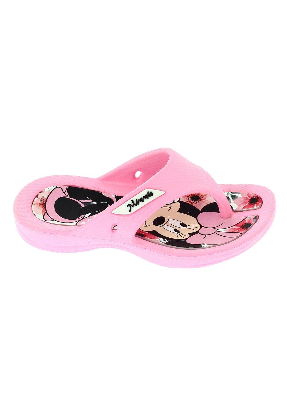 Papuci flip flop, Minnie, roz deschis imagine