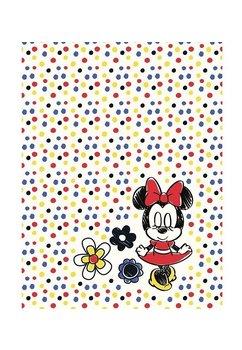 Paturica, Minnie Mouse, buline multicolore, 75x100cm