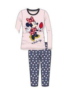 Pijama roz deschis, pantalon 3/4, Minnie Mouse