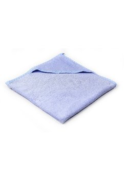 Prosop baie cu gluga, bumbac, albastru, 80x100cm