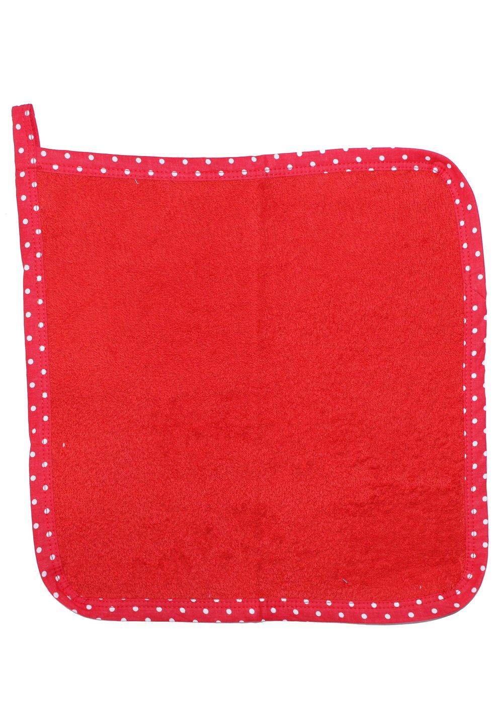 Prosop de maini, rosu, 30x30cm imagine