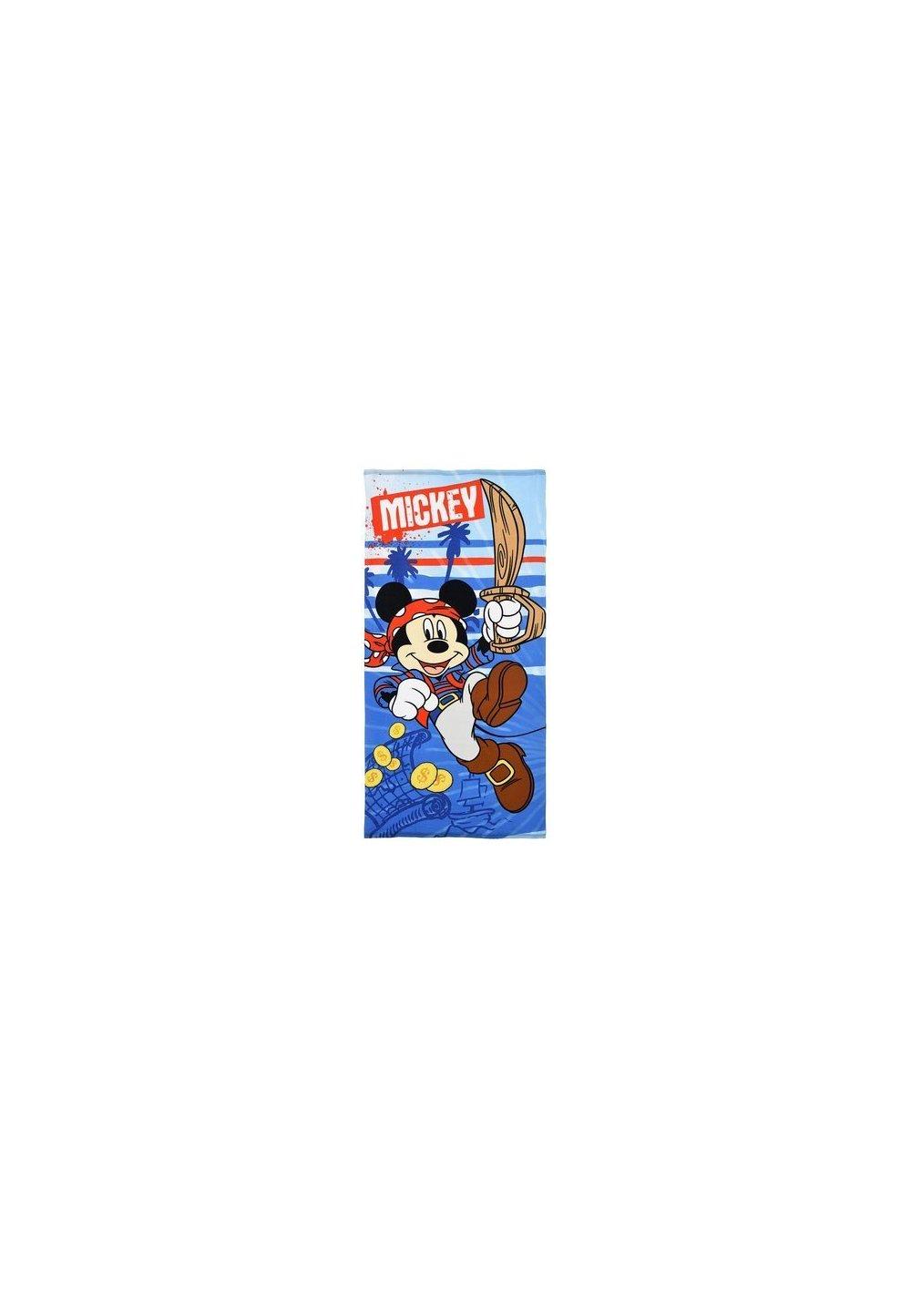 Prosop de plaja, Mickey piratul, albastru, 70x140cm imagine