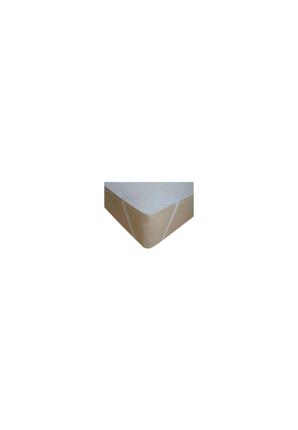 Protectie saltea, impermeabila, alba 120x60cm imagine
