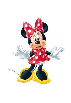 Punga cadou, Minnie Mouse, first class