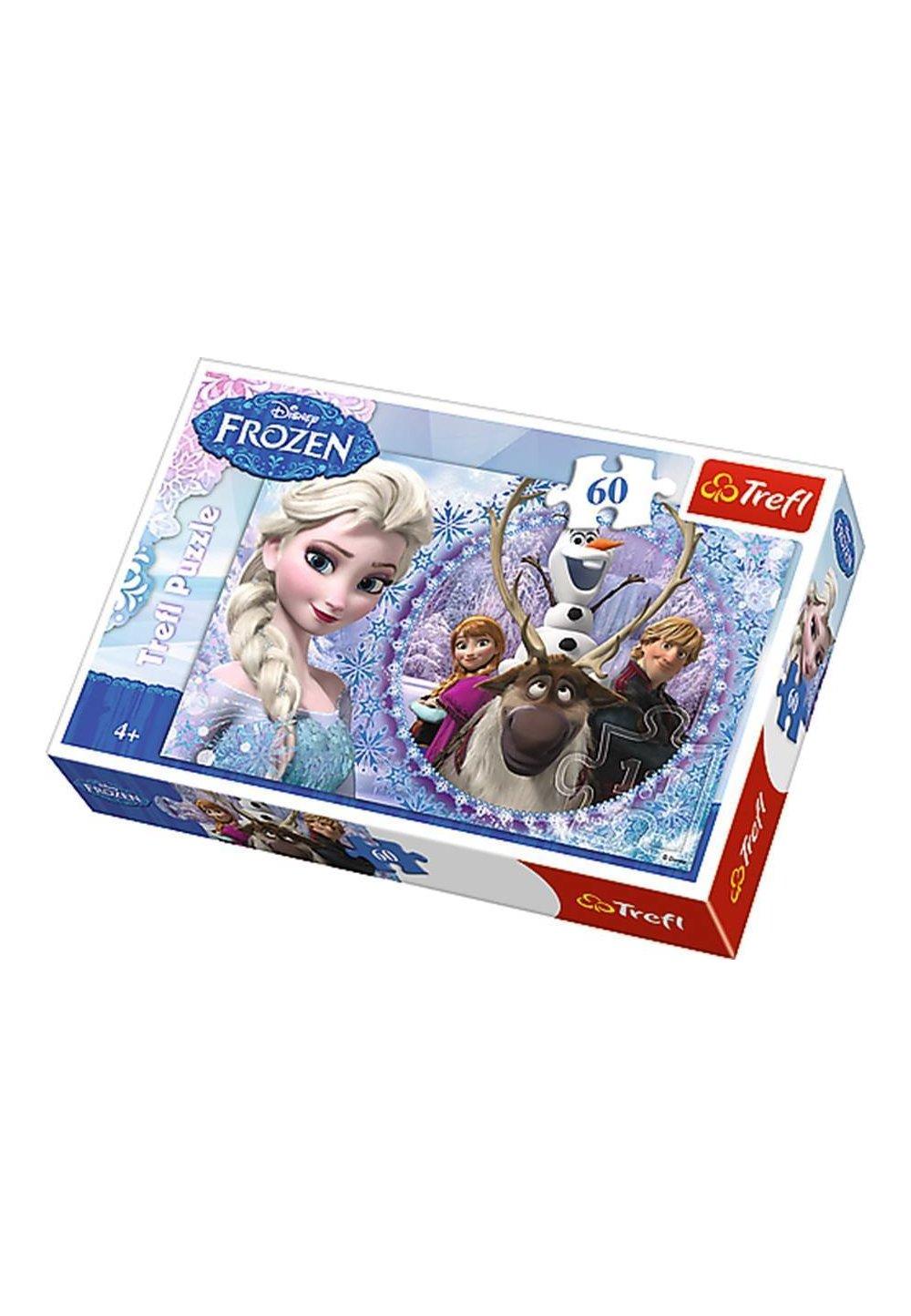 Puzzle, 60 piese, Elsa si Kristoff imagine