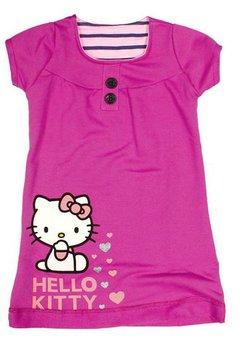 Rochie Hello Kitty, roz