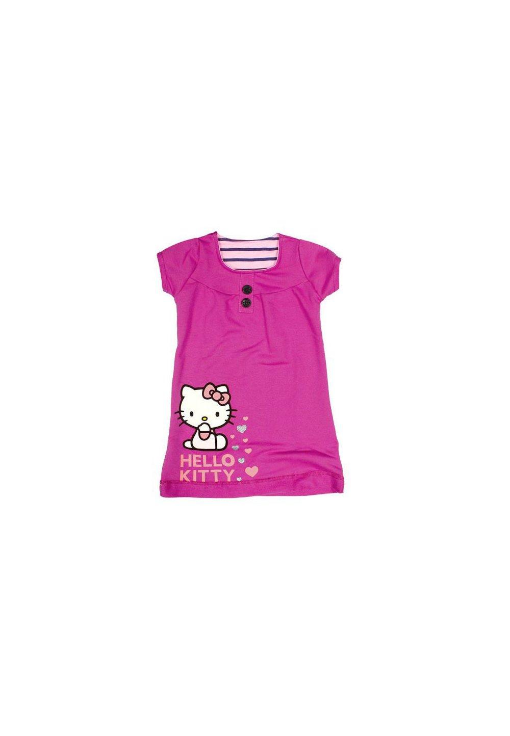 Rochie Hello Kitty, roz imagine